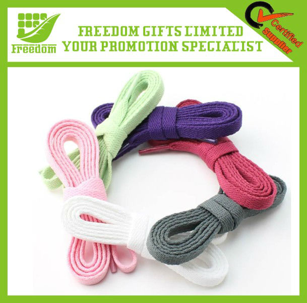Advertising Printed Promotional Colorful Shoelaces