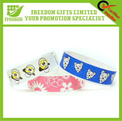 Festival Disposable Tyvek Promotional Paper Braclet
