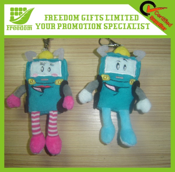 Custom Top Quality Logo Printed Promotional Plush Toy Dog