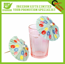 Promotional Logo Branded Custom Cocktail Umbrella