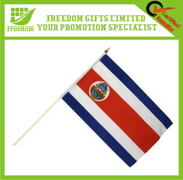 Customized Design Promotional Hand Flag