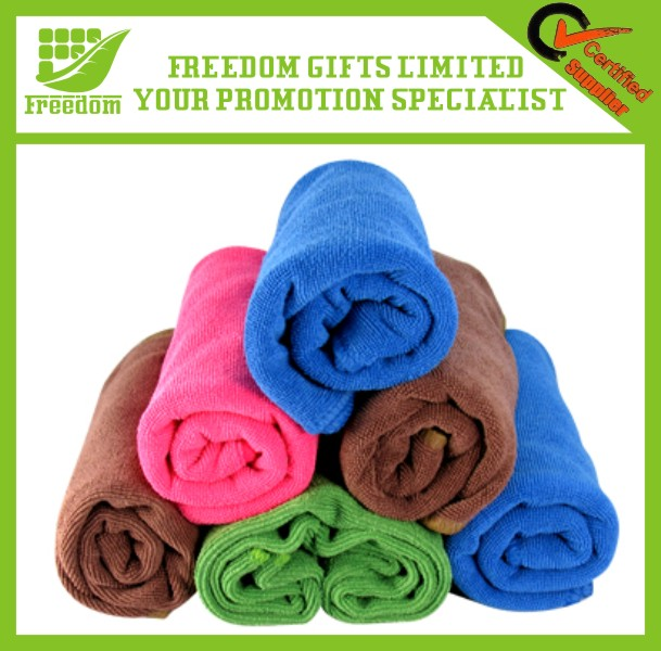 Customized Logo Printed Promotional Microfiber Towel