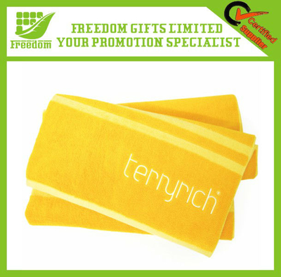 Hot Promotion Logo Printed Gift Beach Towel