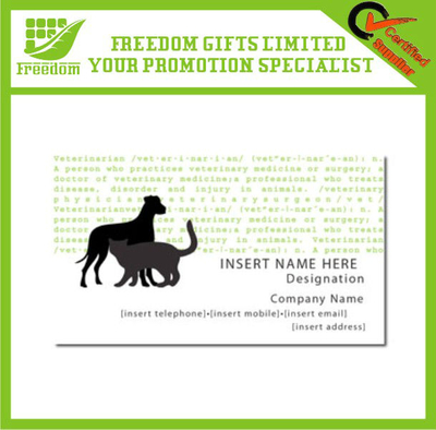 Promotional Business Card Fridge Magnet