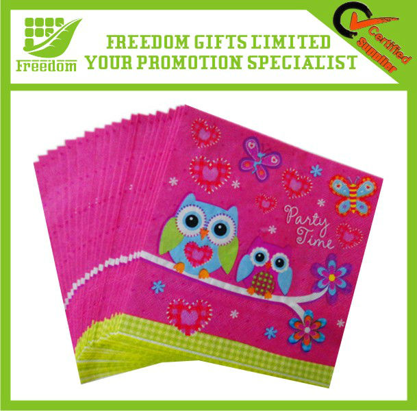 Colorful Napkin Paper