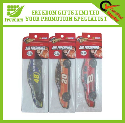 Logo Customized Advertising Paper Air Freshener