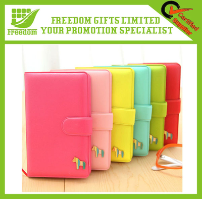 Top Quality PU Business Notebook