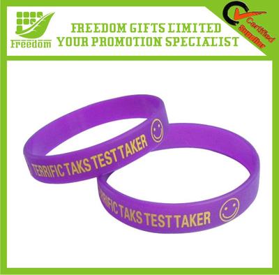 Promotion Adjustable Silicone Wristband