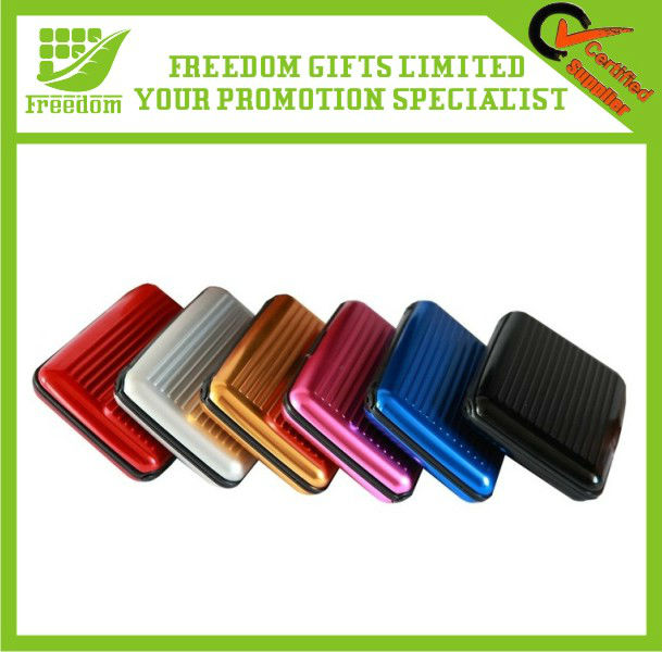 7 Layers Custom Logo Promotional Metal Card Wallet