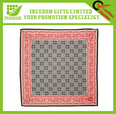 Customized Design Square Cotton Bandana