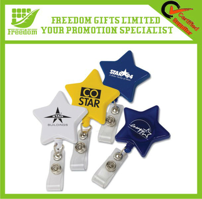 Promotional Logo Branded Star Shaped ID Pass Holder