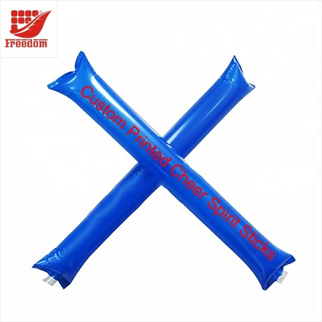 Custom Logo Printed Promotional Inflatable Cheering Sticks