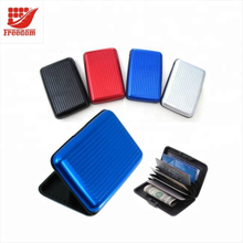 Promotional Customized Engraved Aluminum Business Card Holder