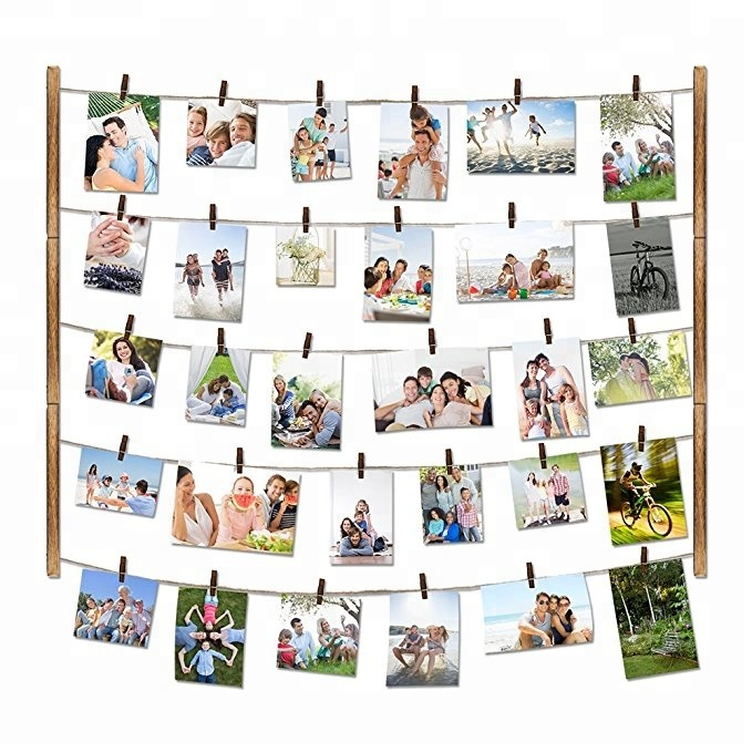 Hanging DIY Photo Frame for Wall Decor