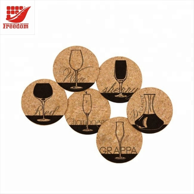 Hot Sales Durable Cork Drink Coasters
