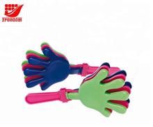 Promotional Cheering Colorful Plastic Hand Clapper