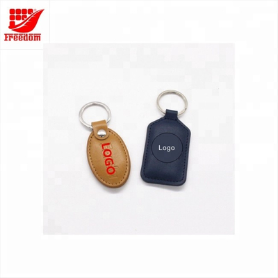 Custom Promotional High Quality Leather Keychain