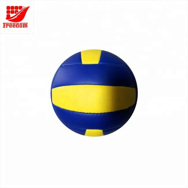 Promotional Logo Customized Printed Leather Volley Ball