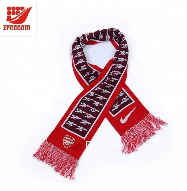 Hot Sell Best Quality Sports Fan Scarf
