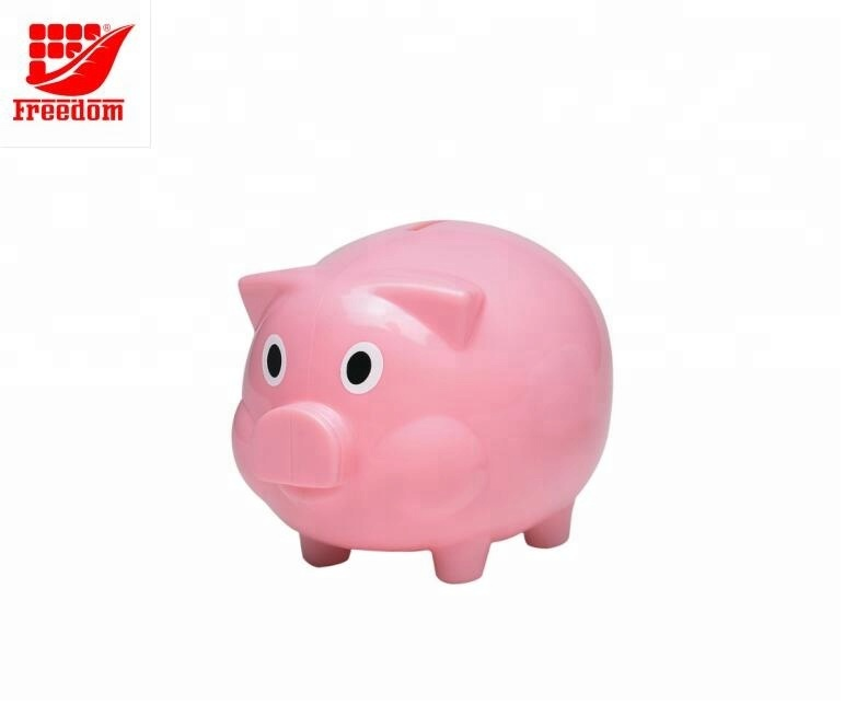 Promotional Kids Plastic Piggy Coin Bank