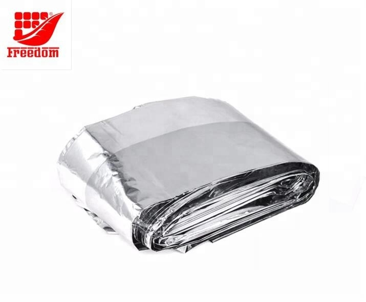 Customized foil survival rescue thermal emergency blankets