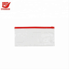 Customized Printing Plastic PVC Zipper Bag Pen Bag