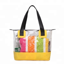 Hot Sale Waterproof Clear Custom PVC Beach Bag