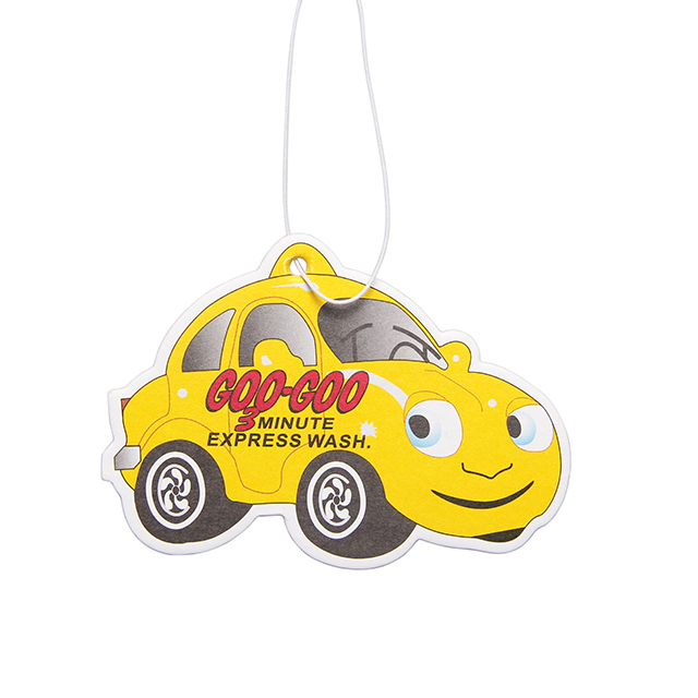 Customized design paper car air fresheners
