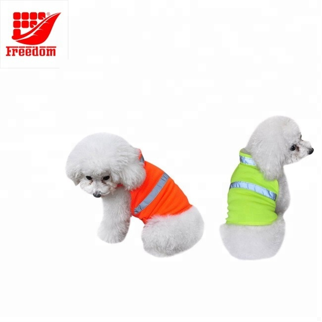 Promotional Logo Printed Reflective Wholesale Dog Clothes