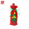 Christmas Wine Bottle Cover Bag Table Decor New Year Gift Bag Ornament