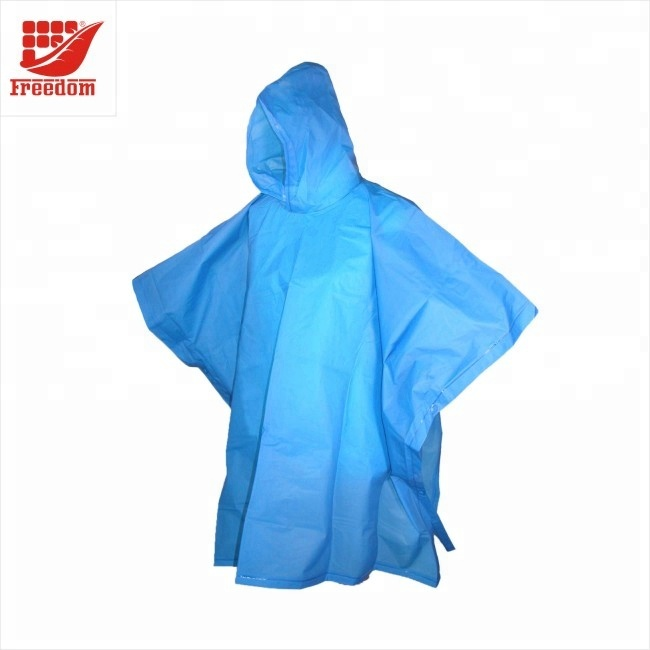 Promotional Logo Printed Disposable Rain Poncho