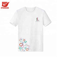 Customized one color printed cotton T shirts