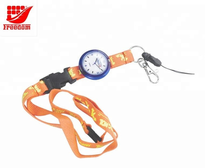 Customized Logo Printed Lanyard And Watch