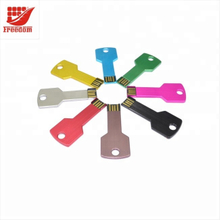 Colorful Custom Promotional Metal USB Key