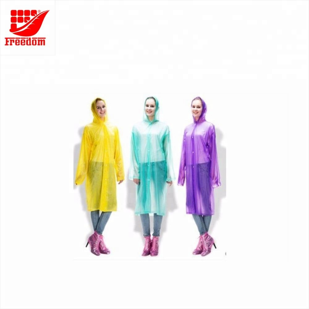 Nice Quality Hot Sale Customized Disposable Poncho for Promotion
