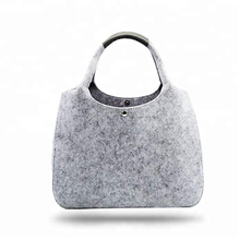 Good Quality Custom Logo Felt Handbag