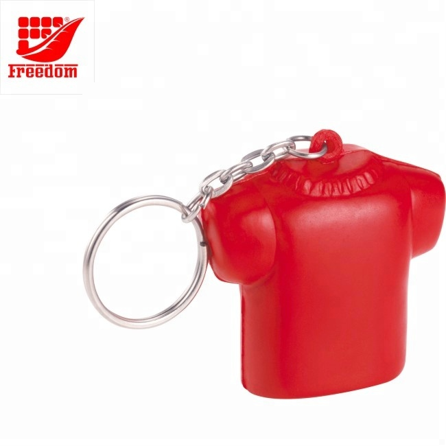 Customized Shape PU Foam Keychain