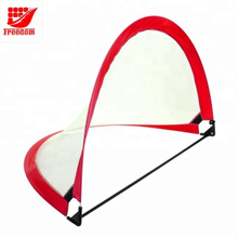 Portable pop up collapsible soccer goal for kids