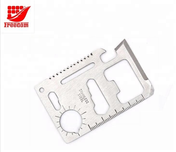 High quality camping outdoor multi-function tool cards