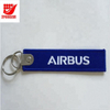 Customized Size Good Quality Embroidery Key Tag