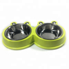 Good Quality Promotional Stainless Steel Frog Pet Bowls