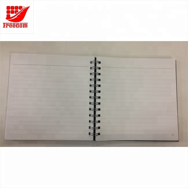 Logo Customized Paper Spiral Notebook