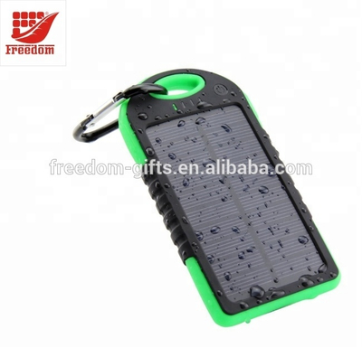 Hot Selling Good Quality Logo Customized Solar Power Bank