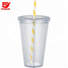 Advertising Logo Custom Reusable Plastic Cup Wholesale