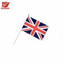 Best Welcomed Top Quality Logo Printed Promotion Hand Held Flag