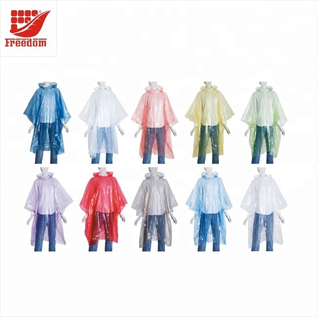 Customized LOGO Promotional Rain Poncho